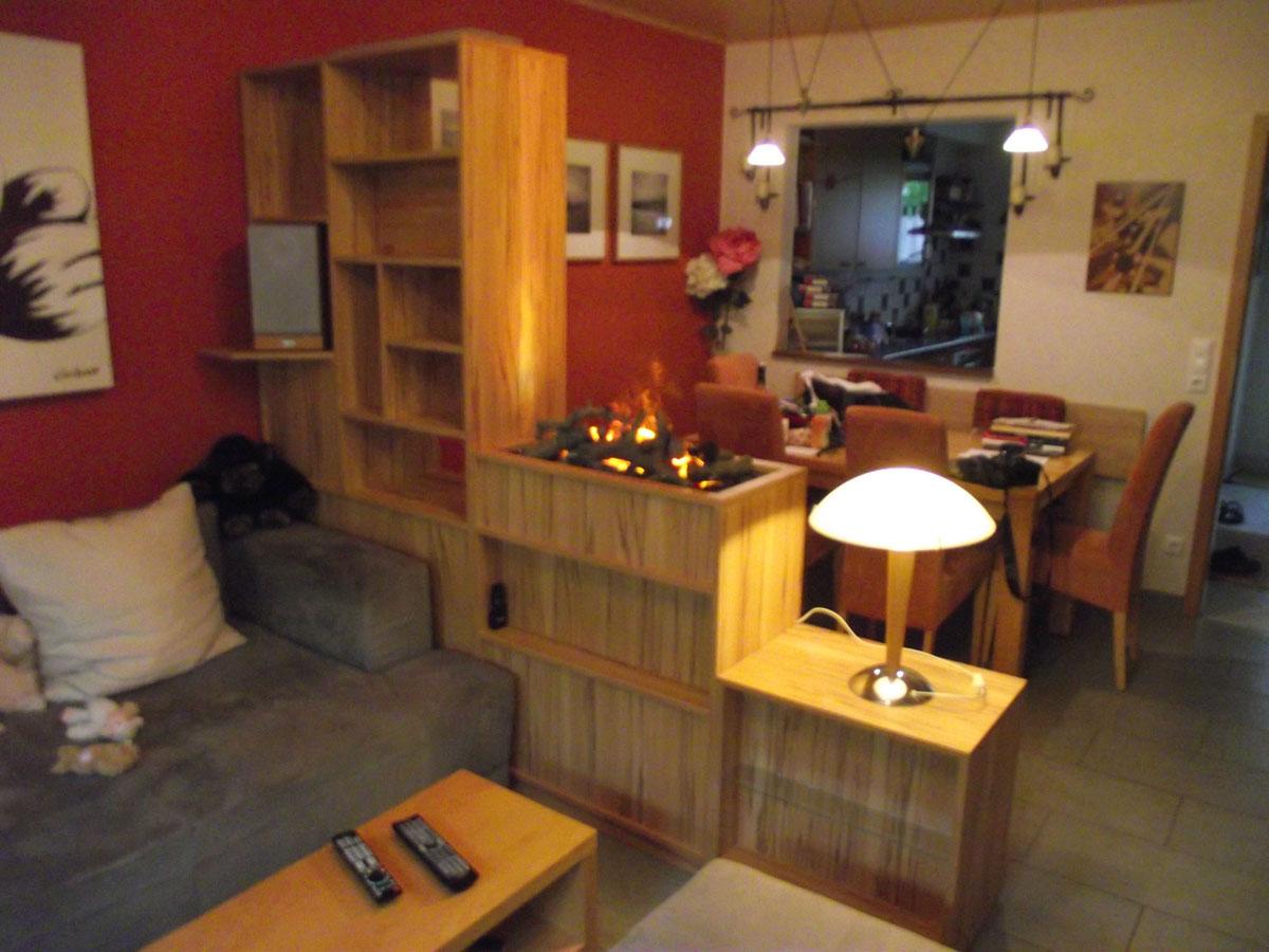 Gemütliche Wohnzimmer Einrichtung