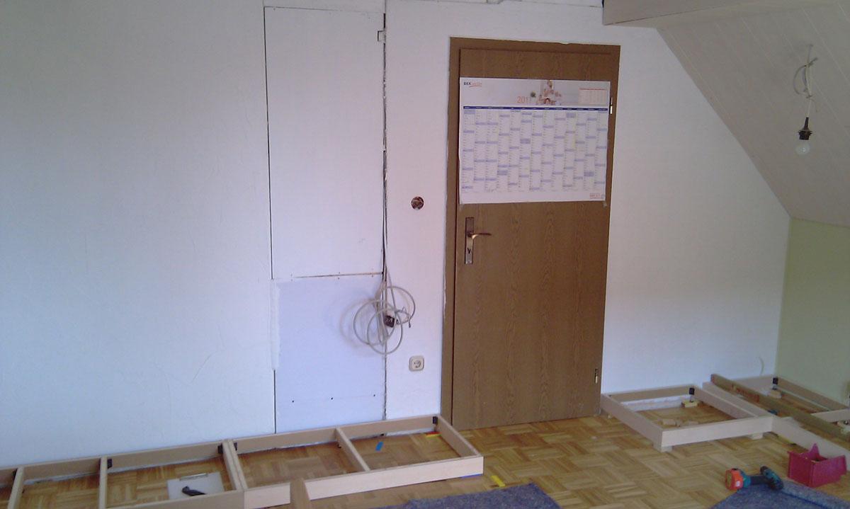 Dachschrägen-Einbauschrank › Wohnideen Schneider